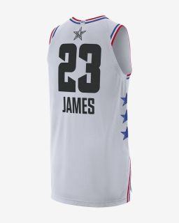 Тениска Jordan NBA LeBron James All-Star Edition Authentic Jersey