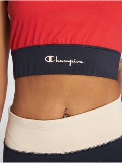 Type Bra Champion Wmns Patchwork Racer Back Cut-Out Sports Bra