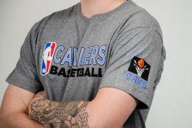 Тениска Mitchell & Ness NBA Cleveland Cavaliers Team Issue Traditional Tee