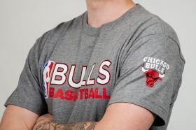 Тениска Mitchell & Ness NBA Chicago Bulls Team Issue Traditional Tee