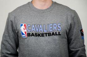 Суичър Mitchell & Ness NBA Cleveland Cavaliers Team Issue Crewneck Sweatshirt