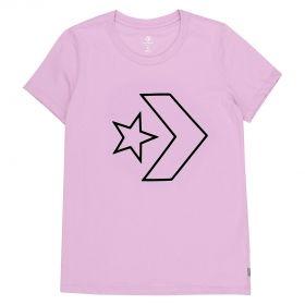 Тениска Сonverse Wmns Core Star Chevron Crew Tee