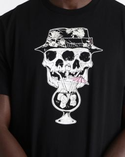 Тениска Converse Palm Print Skull Tee