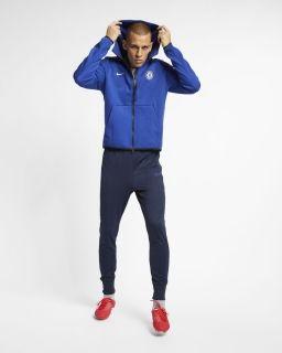 Type Hoodies Nike FC Chelsea 2018/19Tech Fleece Full Zip Hoodie