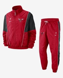 Type Suits Nike NBA Chicago Bulls Tracksuit