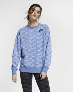Type Hoodies Nike Wmns Air AOP Crew
