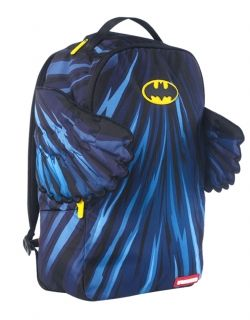 Type Backpacks Sprayground Batman Cape Wings Backpack