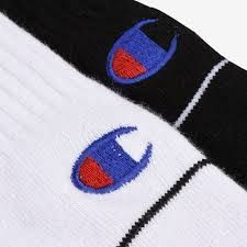 Type Socks Champion B&W Logo Socks