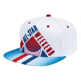 Type Caps Mitchell & Ness NBA All-Star 1991 Weekend Crop Snapback