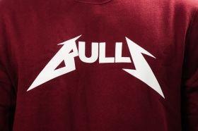 Суичър Mitchell & Ness NBA Chicago Bulls Rock Word Mark Crew Sweatshirt