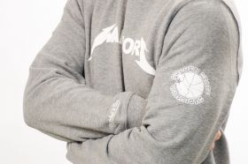 Суичър Mitchell & Ness NBA Golden State Warriors Rock Word Mark Crew Sweatshirt