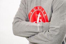 Суичър Mitchell & Ness NBA Houston Rockets Circle Patch Crew Sweatshirt