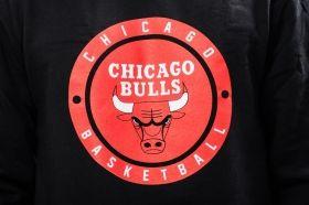 Суичър Mitchell & Ness NBA Chicago Bulls Circle Patch Crew Sweatshirt