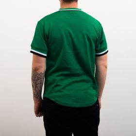 Type Shirts Mitchell & Ness NBA Boston Celtics Special Script Mesh V-Neck T-Shirt