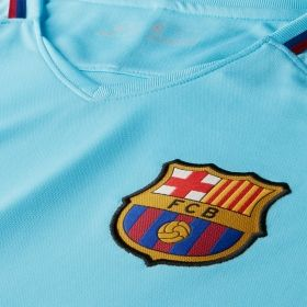Type Shirts Nike FC Barcelona 17-18 Stadium Away Tee