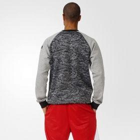 Суичър adidas D Rose Marble Burn-out Crew Sweatshirt