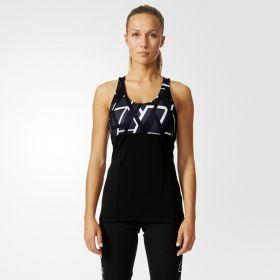 Тениска adidas WMNS Power Yogi Printed Tank Top